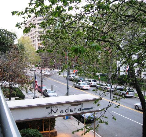 Kimpton Hotel Madera: View from my balcony