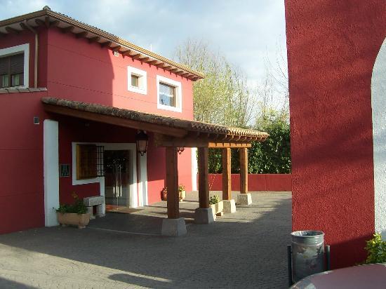 Hotel Juaneca: Entranceway to reception