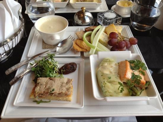 Rocpool Reserve hotel & Chez Roux: Express Menu - fantastic