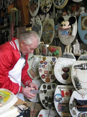 Alamo Heights, TX: Barney Smith and his creations