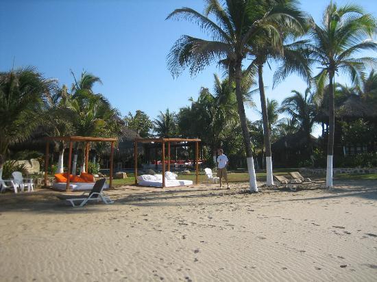 view from the beach ( Casa Yalma Kaan )