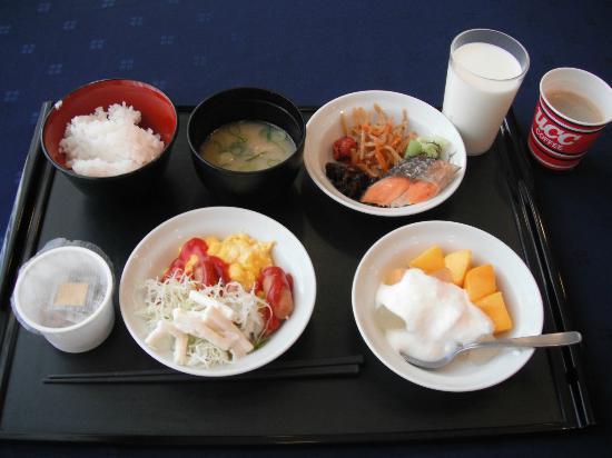 Nabari, Japan: 朝食