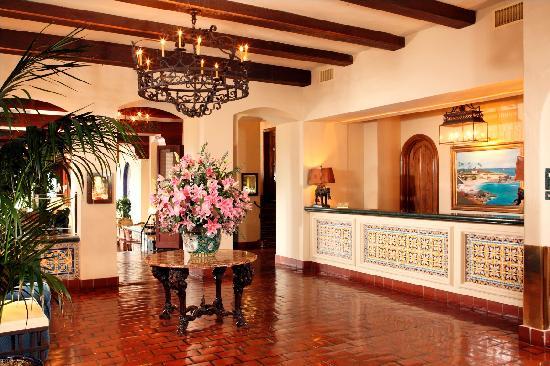 La Valencia Hotel: Lobby