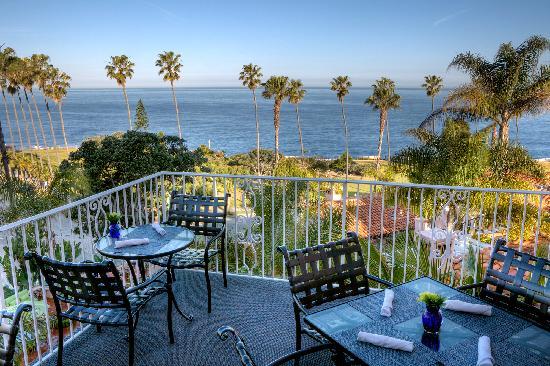 La Valencia Hotel: Ocean View Terrace