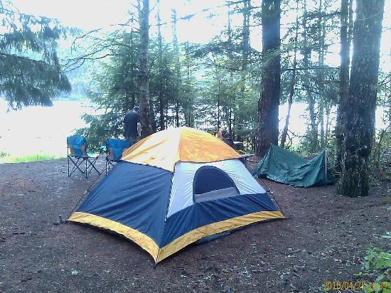 Detroit, OR: Campsite