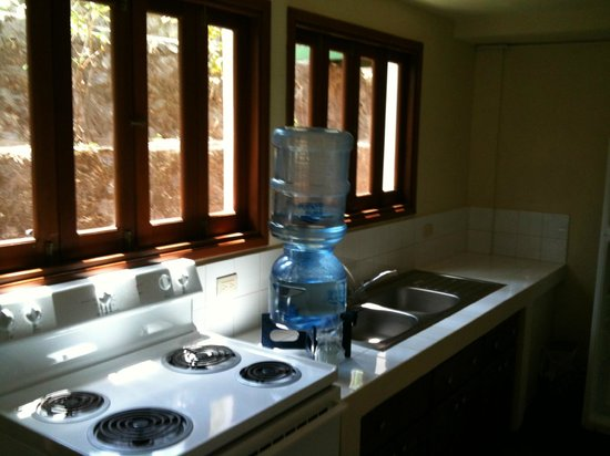 Apoyo Resort : View of part of our kitchenette in the apartmento