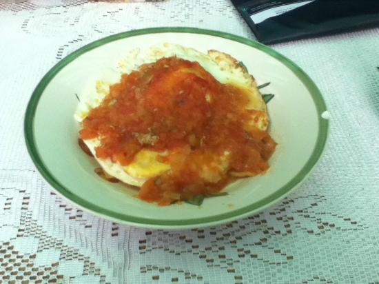 Casa los Joles: Huevos al canasto, buenísimos para desayunar!