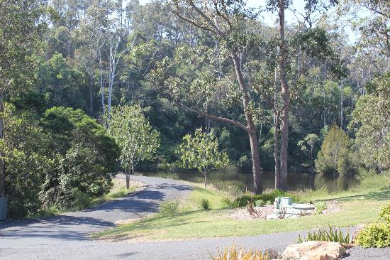 Merimbula Robyns Nest: glorious views of the bush