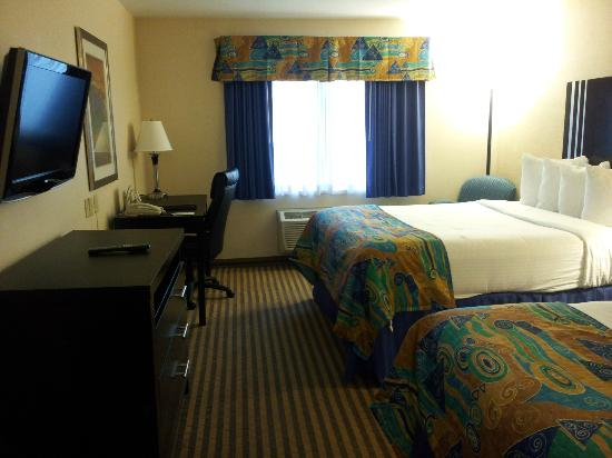 BEST WESTERN PLUS Portage Hotel & Suites: Comfy supportive, but soft beds
