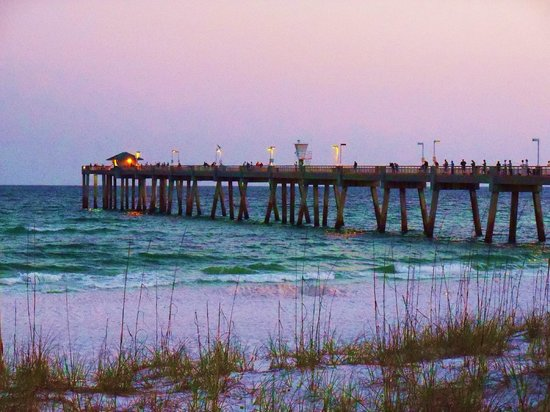 Fort Walton Beach, Flórida: Pier on Okaloosa Island