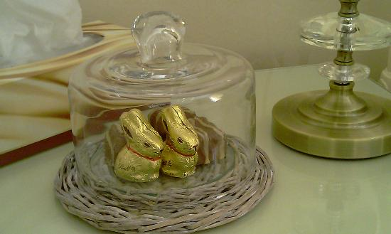 The Twenty One: Easter Goodies in room