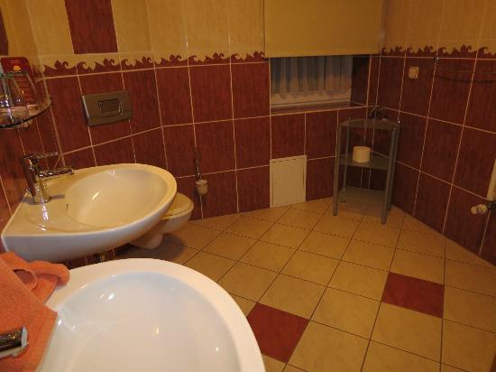 Apart Hotel Wernigerode: Large clean bathroom