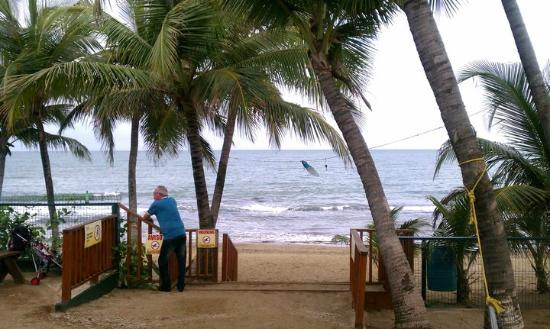 Guayama, Puerto Rico: View of the Caribbean Sea