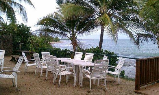 La Casa de Los Pastelillos : View of the Caribbean Sea