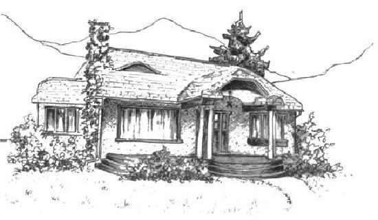 Mistiso's Place Vacation Rentals: Sketch by Maria Baula-Schuh