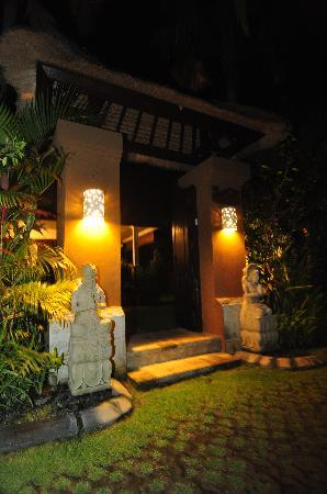 The Zen Villas: Private Villa Entrance
