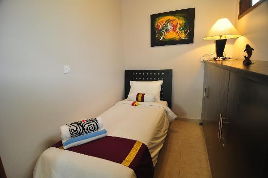 The Zen Villas: Some of our villas offer a third single bedroom