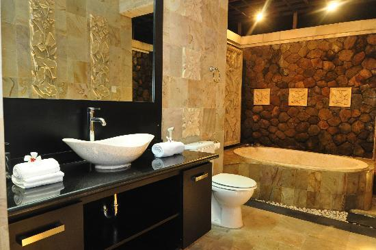 The Zen Villas: Luxury Tranquillity Villa Bathroom
