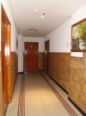 Royal Falcon Hotel: Corridor