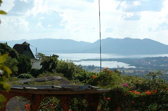 View of Hartbeespoort from Oxwagon lodge