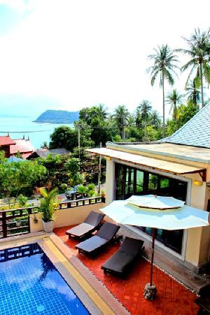 The Villa Koh Phangan: View from Master bedroom 2