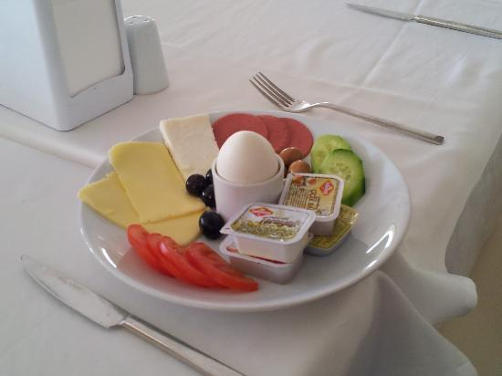 KIzkalesi, Turkije: The breakfast