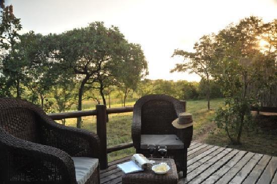 Nkambeni Safari Camp: View from the rooms