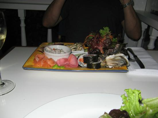 Only Seafood : Japanese seafood platter