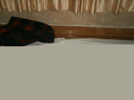 Haveli Hotel: Torn Bedsheet -  8 Apr'12
