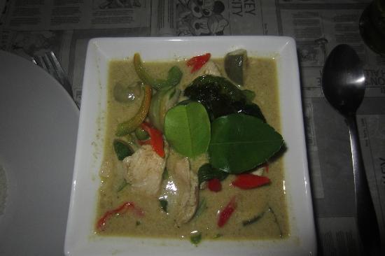 Sabai Sabai Thai Cooking School & Restaurant: This real Green curry