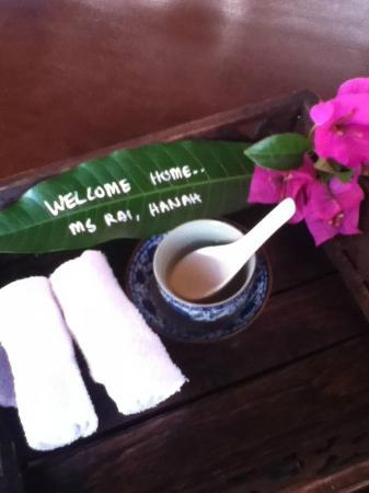 Casa del Rio Melaka: A+ for the welcome!