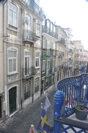 Hotel Anjo Azul - dal balconcino della nostra stanza
