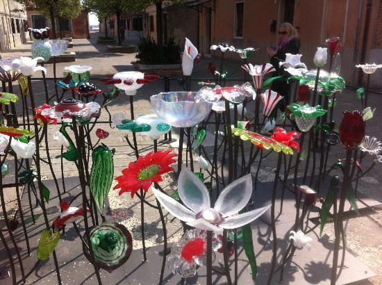 A Venice Emeralds: glass sculture on Murano Island