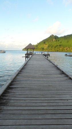 Lalati Resort & Spa : the dock