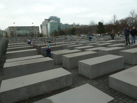 Cicerone Berlino: monumento all'olocausto