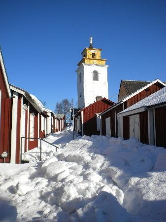 Lulea, Sweden: Bring your own snow-shoes...