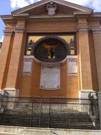 Scala Santa and Chapel of San Lorenzo: particolare laterale
