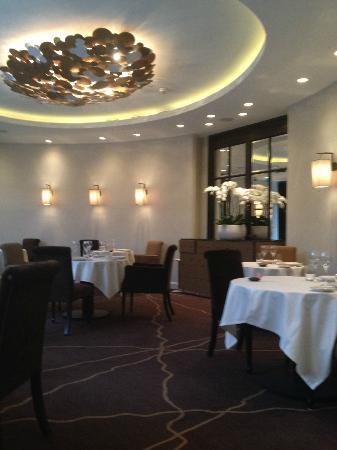 Hotel Le Burgundy: Restaurant Le beaudelaire
