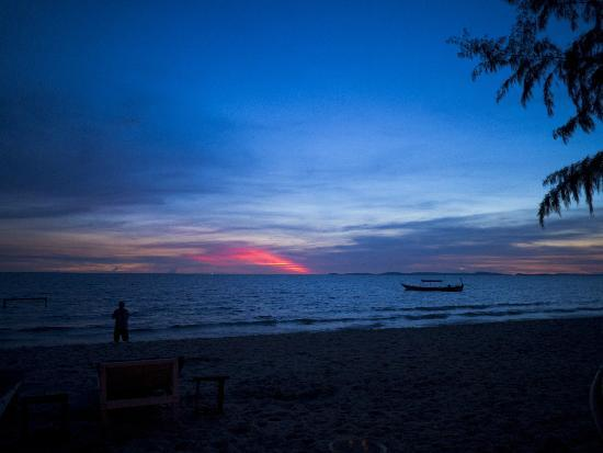 Done Right: Sunset at Otres Beach