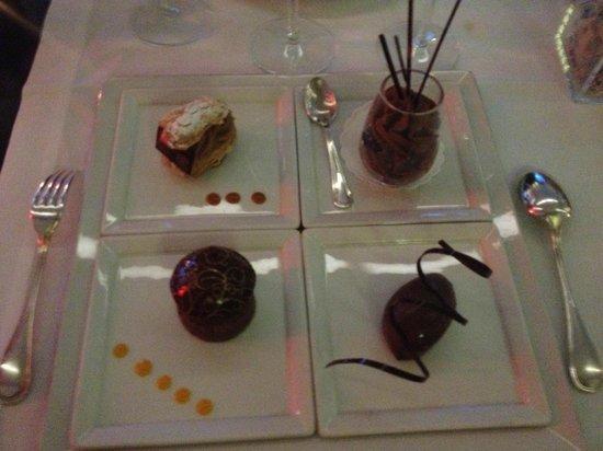 Antoine: Dessert chocolat