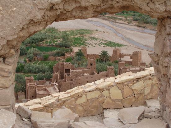 Riad Pégase : Ait BenHaddou, presque sur place...