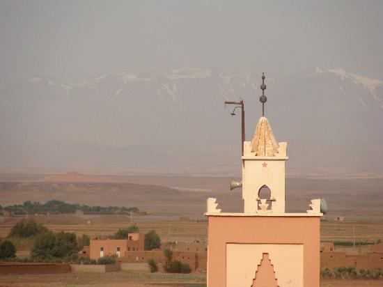 Riad Pégase : merveilleuse vue depuis la terrasse...