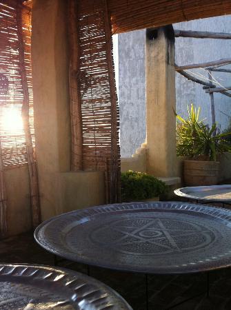 Dar Azaouia: Roof terrace