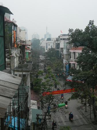 View from Hanoi Rendezvous Hotel