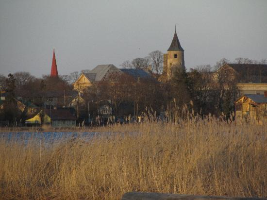 Fra Mare : view  to Haapsalu town from the beach
