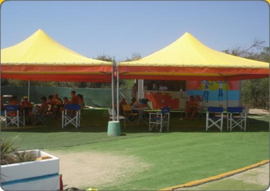 Villaggio Mondial Camping : bar in spiaggia