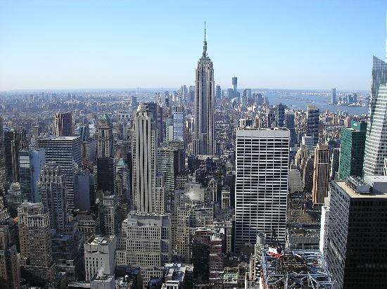 Hampton Inn Manhattan-Times Square North: View from Top of the Rock