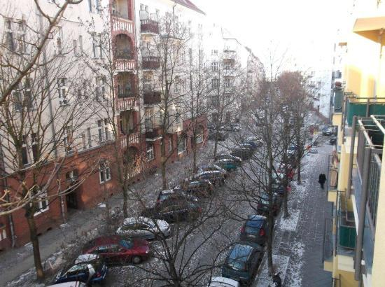 Pension Absolut Berlin: view from the balcony