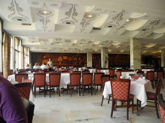 Eatabe Luxor Hotel: The breakfast room