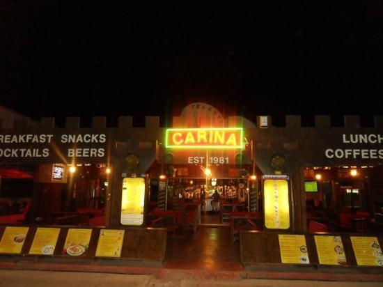 carina sports bar rest.: CARINA SPORTS BAR AYIA NAPA CYPRUS